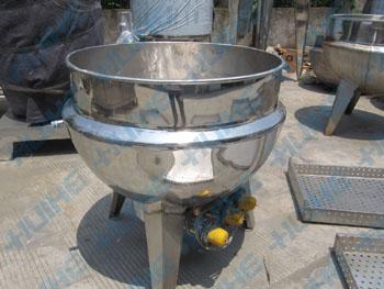 立式带搅拌夹层锅