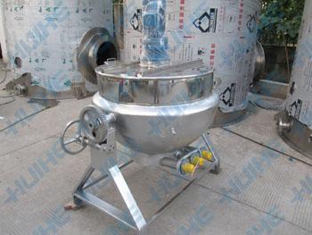 搅拌式电加热导热油夹层锅