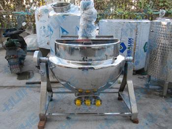 可倾式电加热导热油夹层锅